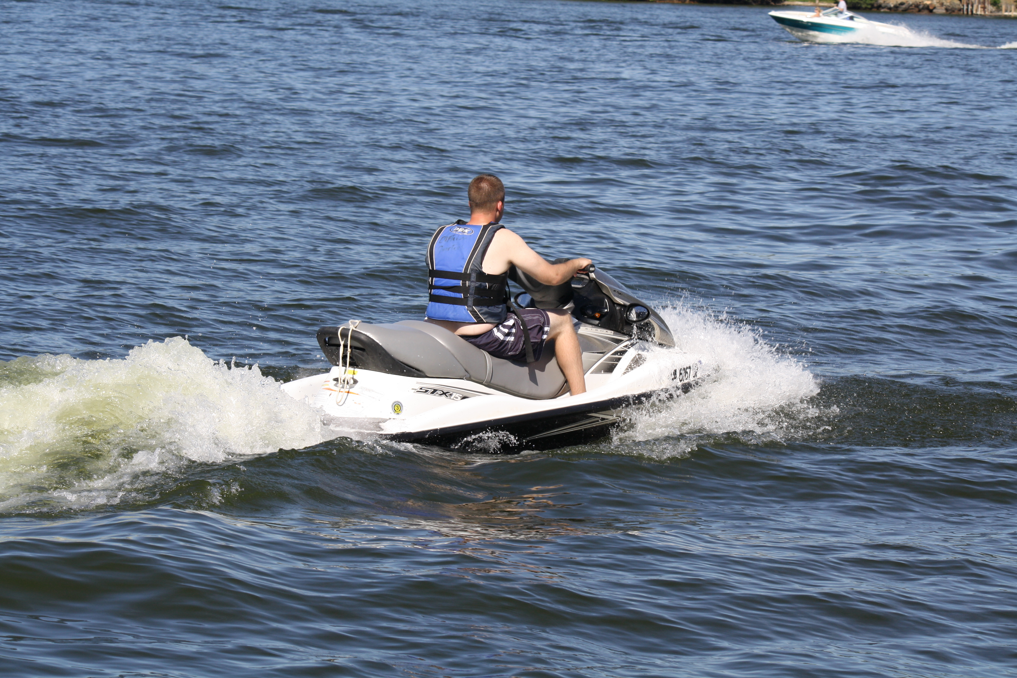 Jet Ski Pontoon http://www.smithmountainlakeboats.com/wordpress/?attachment_id=392